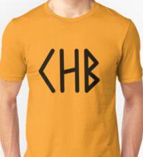 Camp Half Blood initial tee- Black text T-Shirt