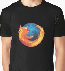 Mozilla Firefox Merchandise Graphic T-Shirt