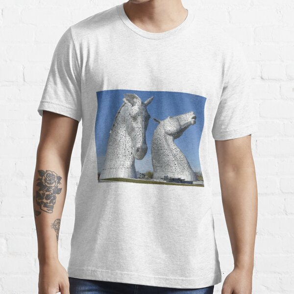 The Kelpies, Helix Park , Falkirk , Scotland Essential T-Shirt