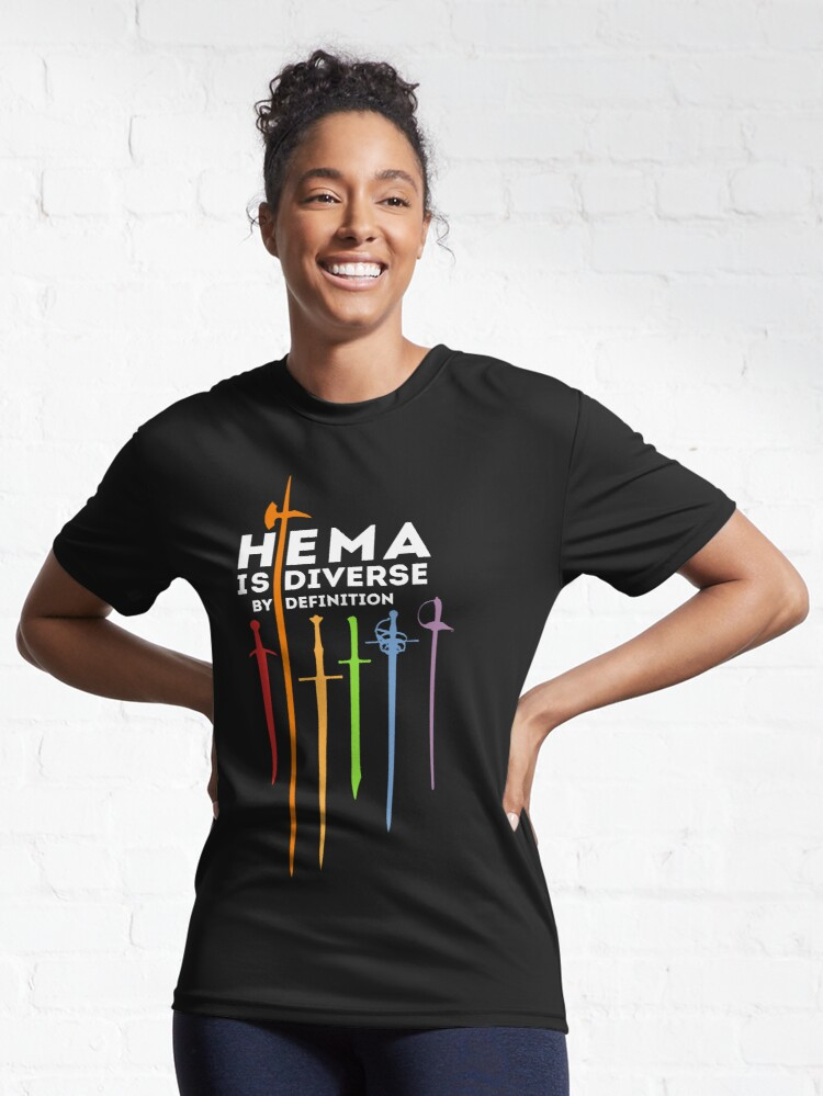 Alternate view of HEMA - Diverse by definition Active T-Shirt