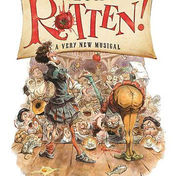 Something Rotten Musical Art by key-change