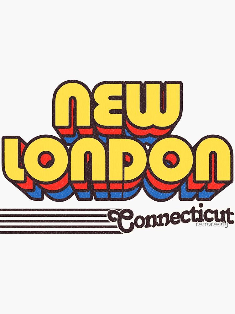 New London, Connecticut | Retro Stripes by retroready