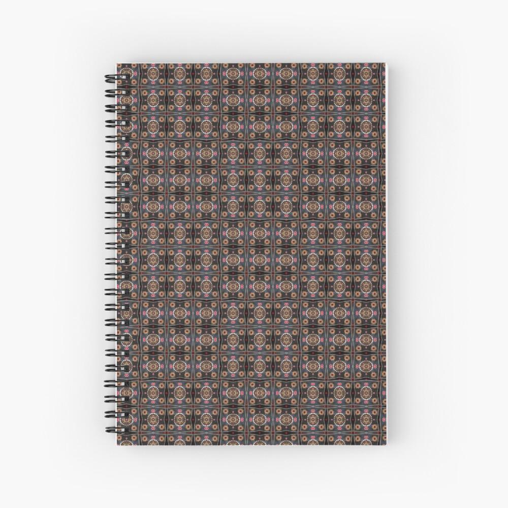 Mosaic, tessellation, puzzles, medley,  pattern, design, arrangement, collection Spiral Notebook