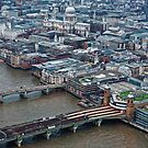 Aerial View of London #1 , England by atomov