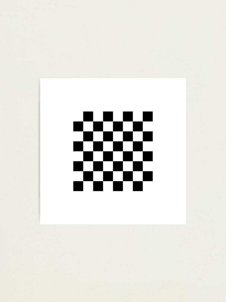 Alternate view of Chess board, chess, board, chessboard, checkerboard, checker, checkers, chequers Photographic Print