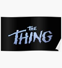 The Thing Title Poster