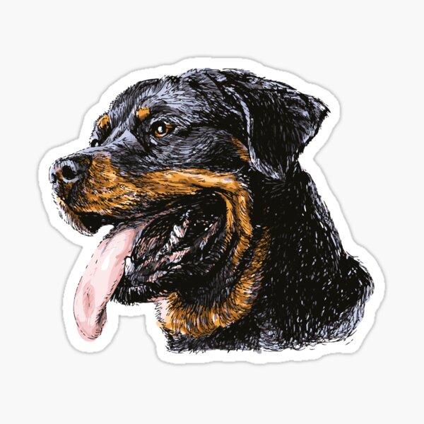 Rottweiler Dog Pet Sticker
