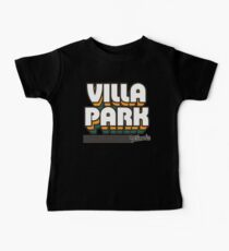 Villa Park, Illinois | Retro Stripes Baby Tee