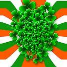 Friendly Irish Shamrock by Orla Cahill