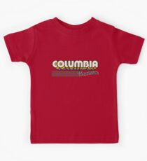 Columbia, Tennessee | Retro Stripes Kids Tee