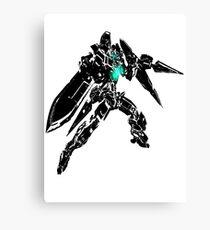 Gundam Exia GN Flow Canvas Print