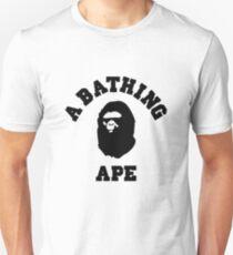 bape a bathing ape logo t-shirt Unisex T-Shirt