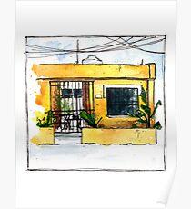 Playa del Carmen - Mexico Travel Journal Poster