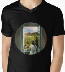 Heaven On Earth v2 Men's V-Neck T-Shirt