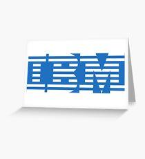 IBM Greeting Card