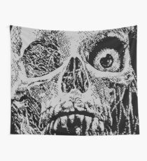 Tales From The Crypt - Skull Wall Tapestry