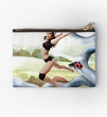 Welcome October in the Elf World Studio Pouch