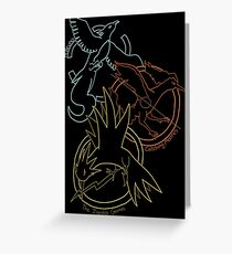 Birds x The Hunger Games Greeting Card