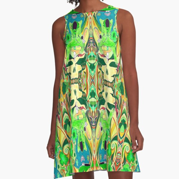 Shamr0ck Shaked0wn A-Line Dress