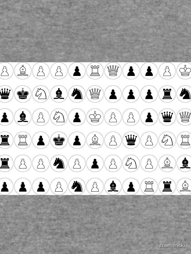 #Chess piece, #chessman, #king, #queen, #rooks, #bishops,  #knights, #pawns, #ChessPiece, #ChessBoard by znamenski