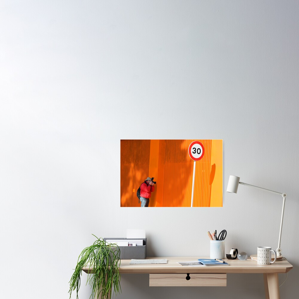 In Search of Orange  Poster