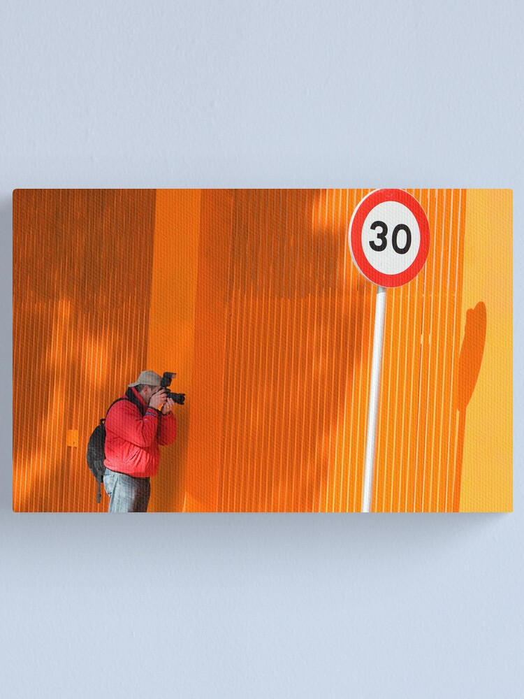 Alternate view of In Search of Orange  Canvas Print