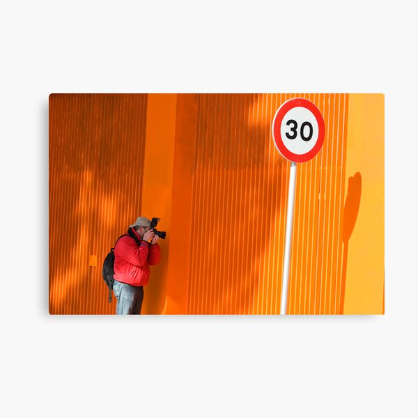 In Search of Orange  Canvas Print