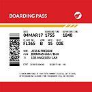 Boarding Pass Pillow (3225x3225 px) (J&F) by twgcrazy