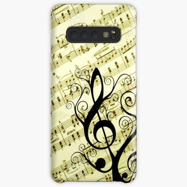 Music Notes Samsung Galaxy Snap Case