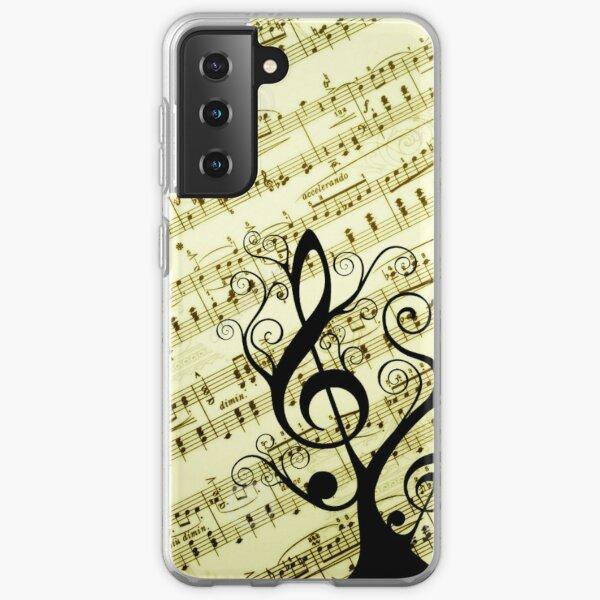 Music Notes Samsung Galaxy Soft Case