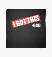 Lustiger Christ ich erhielt diesen Gott - Bibel-Religion Tuch