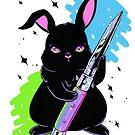 Switchblade Bunny by JollyNihilist