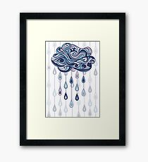 Abstract cloud Framed Print