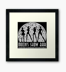 Moon's Show Bar - Zombie Dancers Framed Print