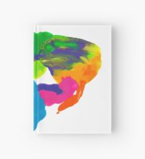 Tintenklecks Rorschach Notizbuch