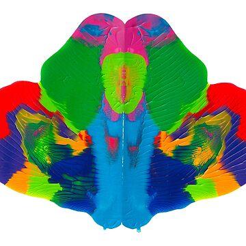 Rorschach Tintenklecks von TintenklecksArt