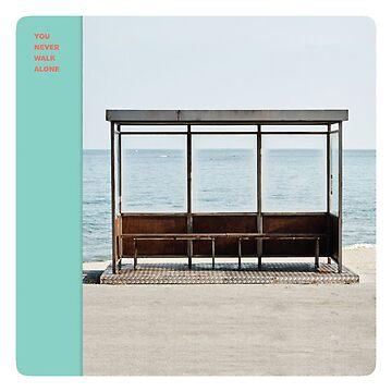 BTS Nunca caminas solo / Obra del álbum Wings de KpopTokens