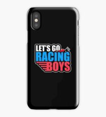 Let's Go Racing Automotive Funny Car Race Lover Gift iPhone Case/Skin