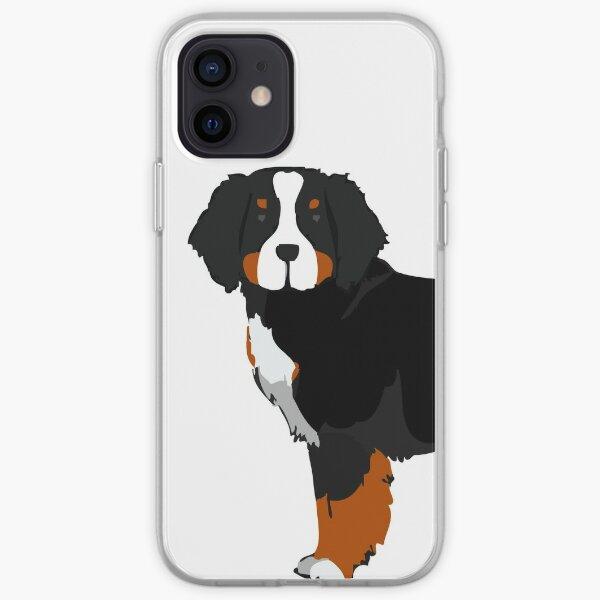 Berner Mountain Dog iPhone Soft Case