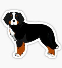 Berner Mt Dog Sticker