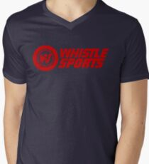 Whistle Men's V-Neck T-Shirt