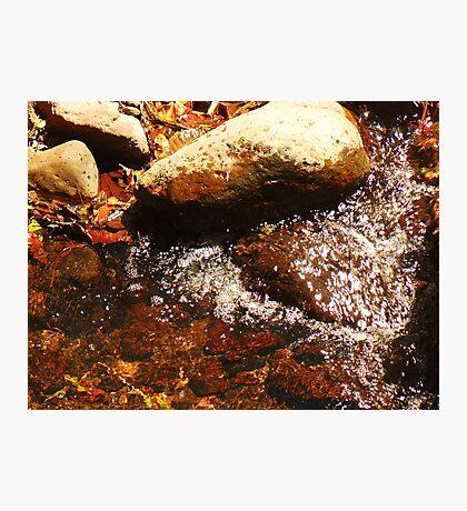 Running Water Photographic Print