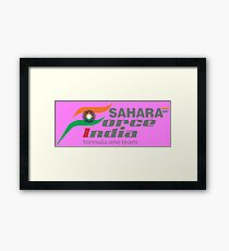 india force Framed Print