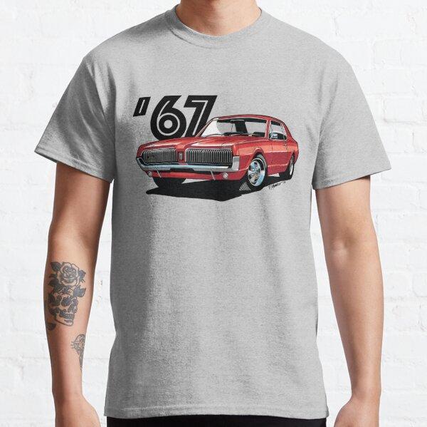 1967 Mercury Cougar- Cardinal Red Classic T-Shirt