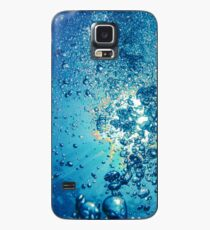 iPhone or Samsung Galaxy Cell Phone Cover, Case, or Skin Underwater Scuba Diving Bubbles Design Case/Skin for Samsung Galaxy
