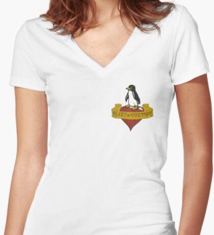 fmt82 Fitted V-Neck T-Shirt