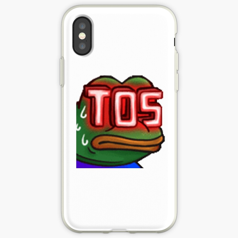 monkaTOS Twitch Emote | iPhone Case & Cover