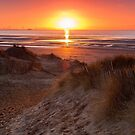 Strand Sonnenuntergang von Paul Barnett
