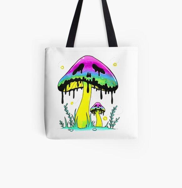 Poison Shroom All Over Print Tote Bag