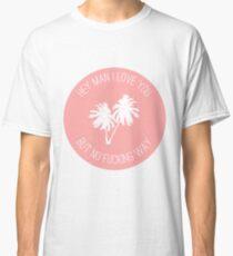 Twin Sized Mattress Lyrics (Peach) Classic T-Shirt